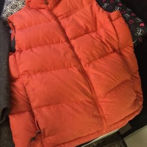Vintage Eddie Bauer orange vest